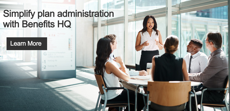 Simplify plan administration with Benefits HQ